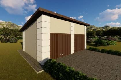 Constructie garaj metalic GR02