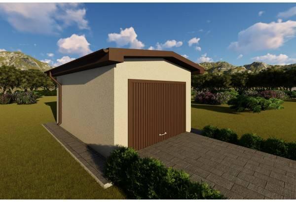 Constructie garaj metalic GR03