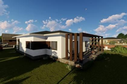 Proiect casa pe structura metalica 179-045
