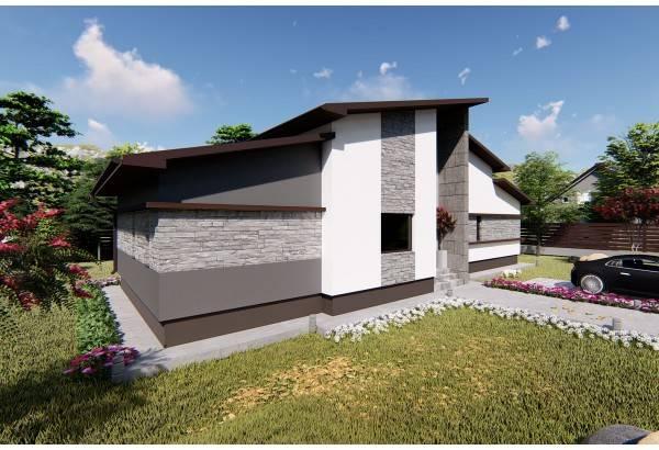 Proiect casa pe structura metalica 144-046