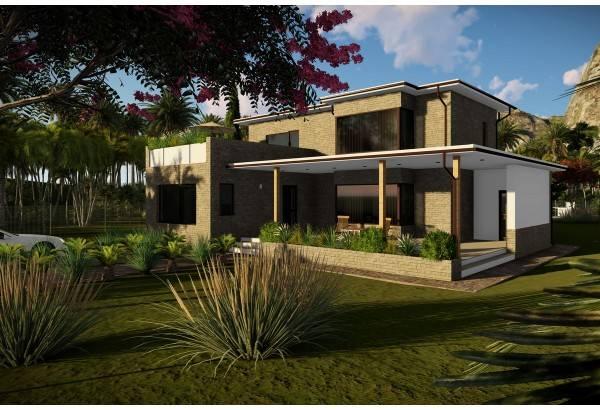 Proiect casa pe structura metalica 250-065