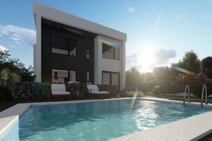 Proiect casa pe structura metalica 320-055
