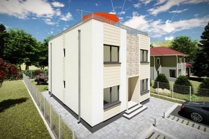 Proiect casa pe structura metalica 226-081