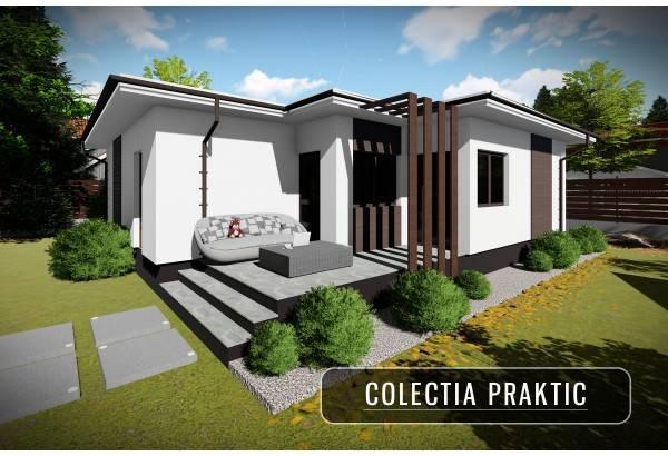 Proiect casa pe structura metalica 100-078