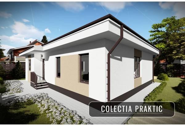 Proiect casa pe structura metalica 120-083