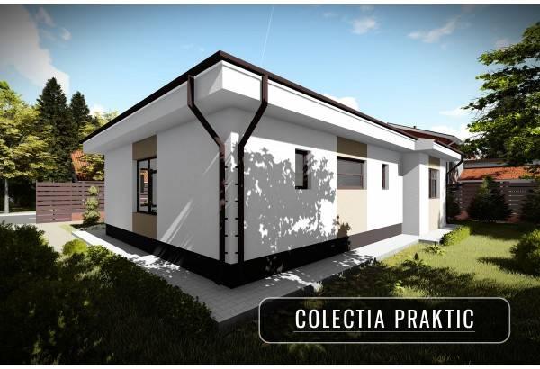 Proiect casa pe structura metalica 110-082
