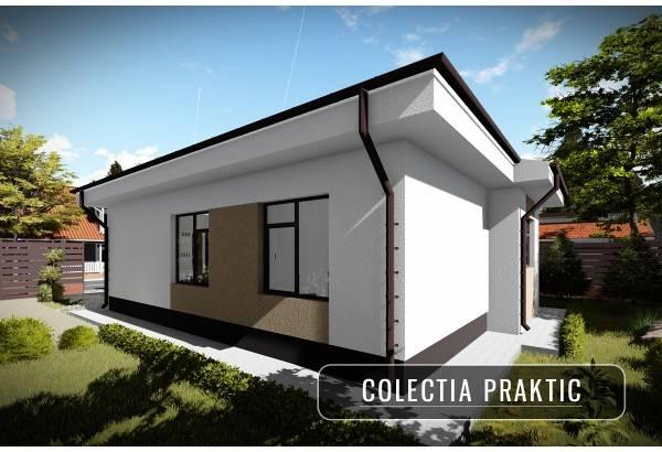 Proiect casa pe structura metalica 084-084