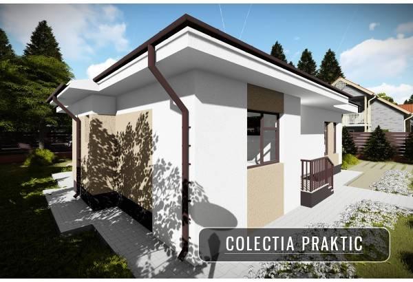 Proiect casa pe structura metalica 105-085