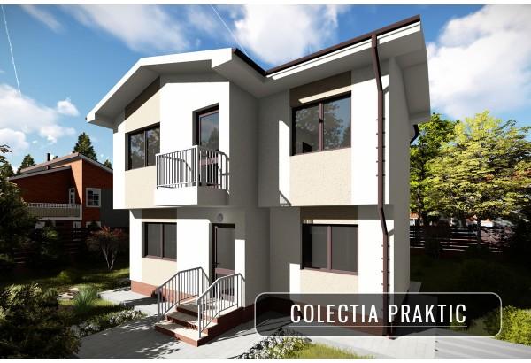 Proiect casa pe structura metalica 141-087