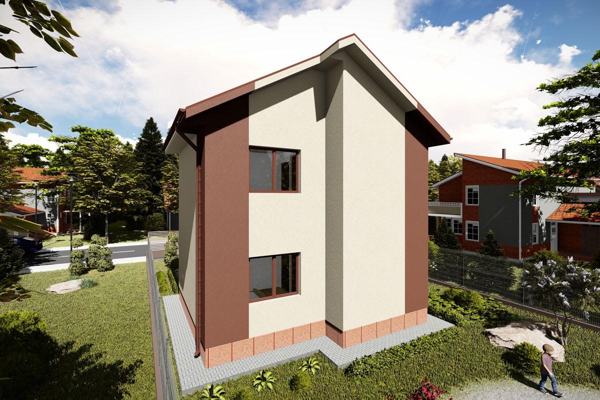 Modele case cu structura metalica