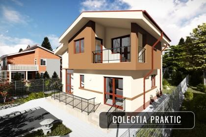 Proiect casa pe structura metalica 147-089