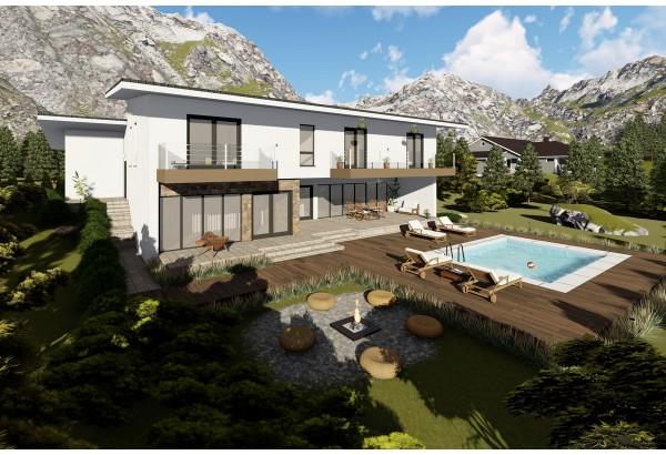 Proiect casa pe structura metalica 474-059