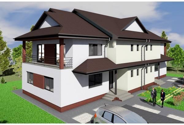 Proiect casa pe structura metalica 476-011