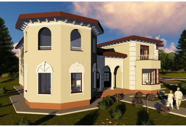 Proiect casa pe structura metalica 570-028