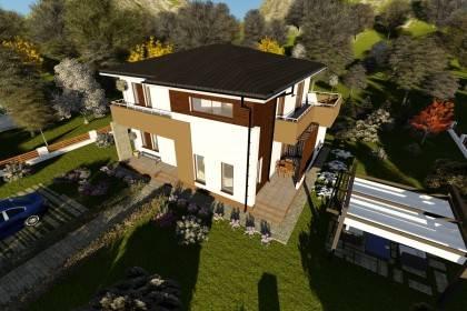 Proiect casa pe structura metalica 235-043