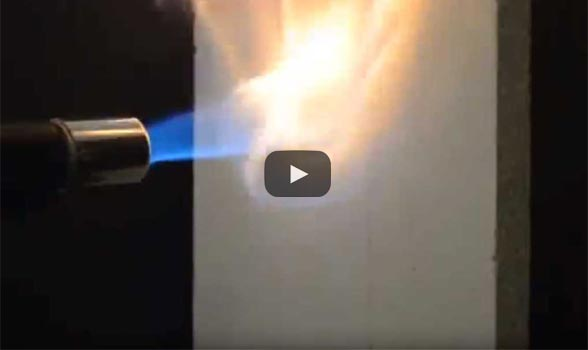casa metalica rezistenta la foc