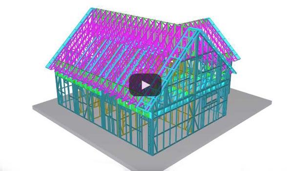 proiectare structura casa metalica
