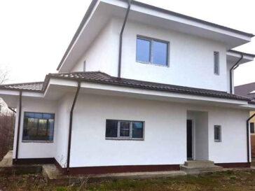 Montaj geamuri si usi termopan proiect de casa metalica 260-006 260mp
