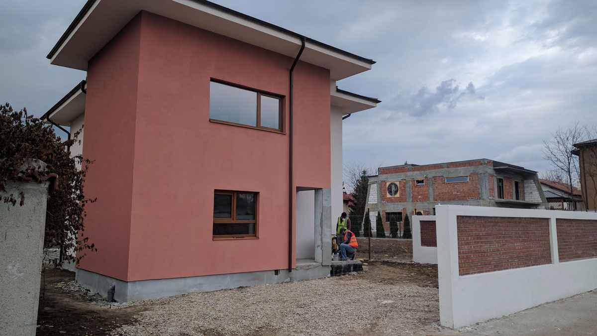 Model Tencuiala Decorativa.Tencuiala Decorativa Model Casa 188 013 03 Proiecte Case La Cheie
