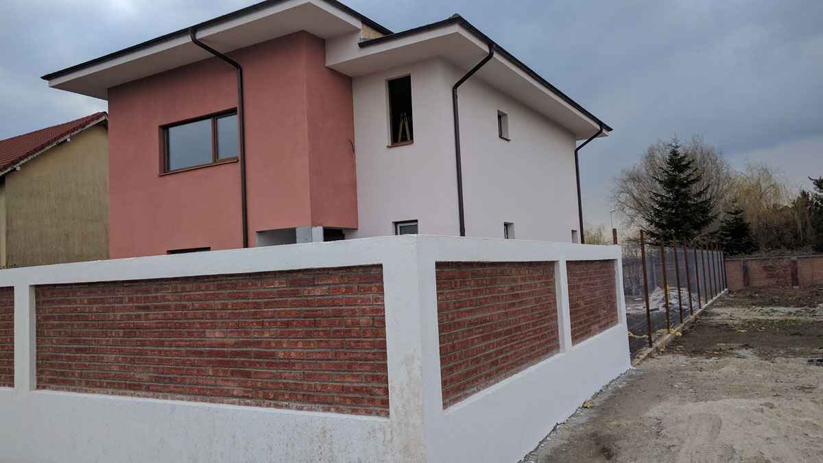 Model Tencuiala Decorativa.Tencuiala Decorativa Model Casa 188 013 14 Proiecte Case La Cheie