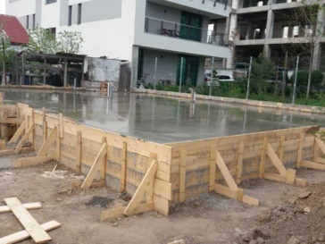 constructie fundatie proiect casa parter Craiova