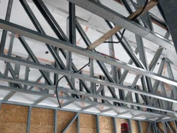 Izolatie acoperis pentru casa structura metalica proiect 260-006