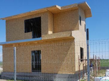 placare osb proiect de casa in Domnesti