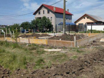 proiect constructie duplex si gard pantelimon