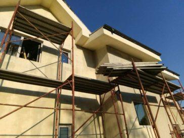 Aplicare tencuiala decorativa proiect de casa saftica