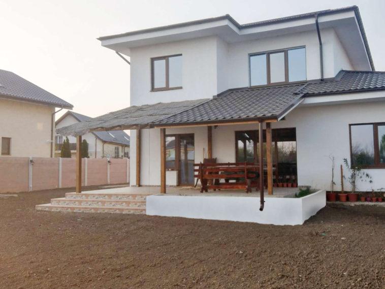 amenajare curte proiect de casa metalica 260-006