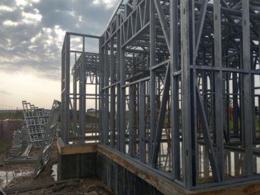montaj structura metalica parter proiect casa