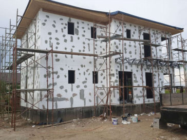 placare polistiren expandat proiect casa metalica