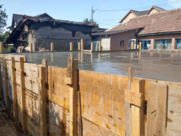 constructie fundatie proiect casa 130-088