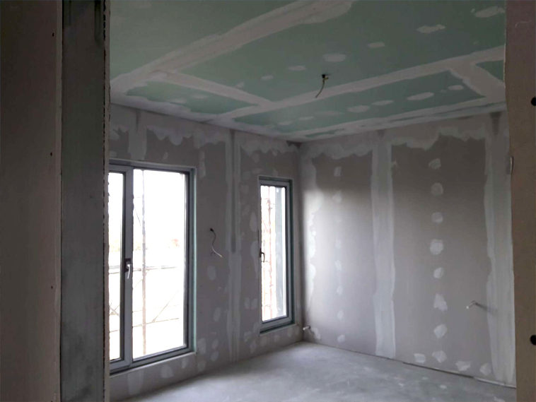 glet finisaj interior proiect de casa