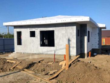 masa de spaclu proiect de casa la cheie 72mp