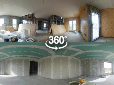 placare gips carton si glet finisaj interior proiect casa 190-080
