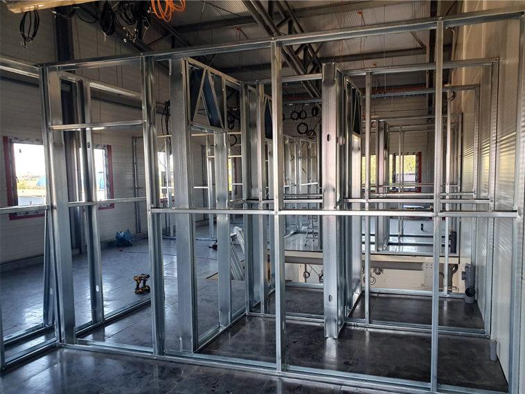 proiect compartimentare spatii birouri pentru hala