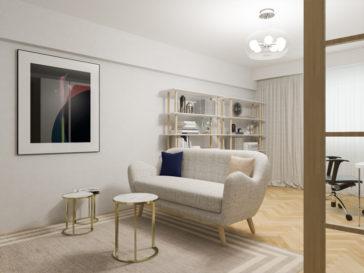 design interior apartament 80mp in bucuresti