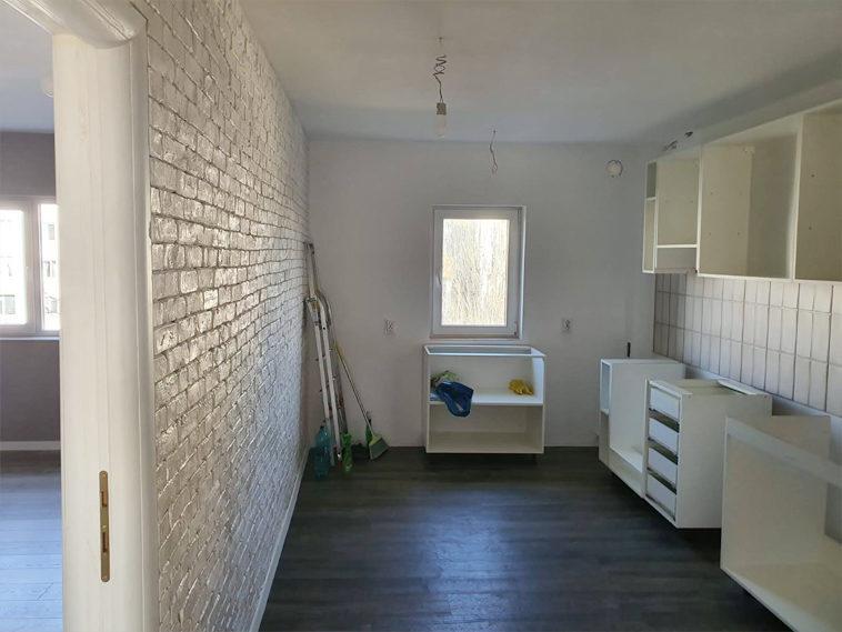 montaj finisaje pentru proiect apartament baneasa 120 mp utili