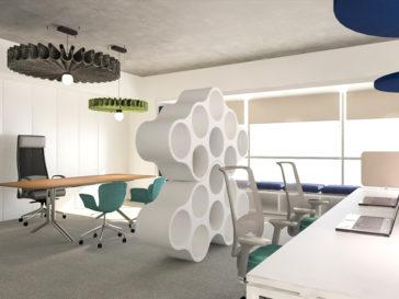 prestari servicii design interior cladire birouri 500mp