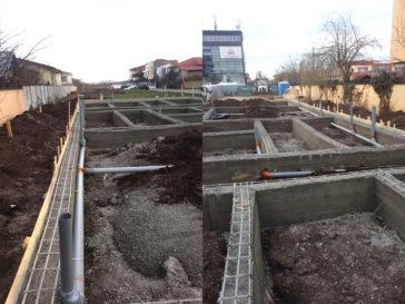 proiect hala metalica decofrare fundatie montaj instalatii