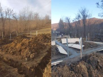turnare beton mort in talpa fundatie proiect pensiune agroturistica