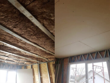 Inchideri interioare pereti pentru proiect casa 155 mp