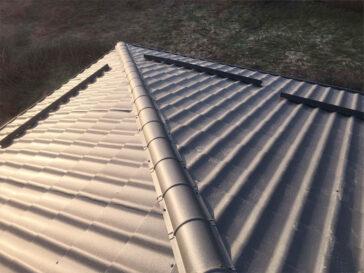 montaj acoperis proiect de casa pe structura metalica 155 mp