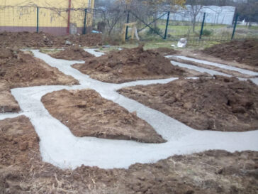 Constructie casa metalica 165 mp Snagov turnare talpa fundatie
