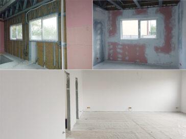 placari interioare hala metalica cu gips carton antifoc si acustic