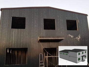Proiectare constructie hala depozitare cu birouri logistica in Ilfov